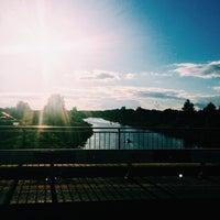 Photo taken at на мосту by Maria M. on 6/28/2015