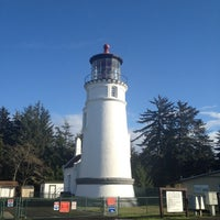 Photo taken at Umpqua Lighthouse State Park by Jennifer G. on 11/10/2012