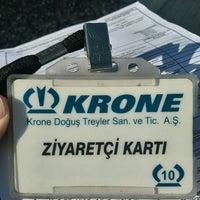 Photo taken at Krone Doğuş Treyler by Murat S. on 1/28/2016