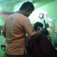 "Photo taken at pangkas rambut "" MARTAPURA "" by Rudy M. on 6/28/2013"