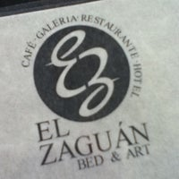 Photo taken at El Zaguán Bed & Art by Isabel C. on 2/6/2013