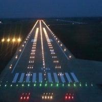 Photo taken at Tolmachevo International Airport (OVB) by Yakunov S. on 6/10/2013