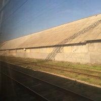 Photo taken at Залізнична станція «Урожайна» by Аноним on 4/17/2014