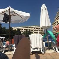 Photo taken at Main Pool @ Sol Palace Hotel by Freija M. on 8/6/2016