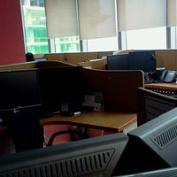 Photo taken at TELUS International Philippines Inc. by Carling T. on 6/29/2013