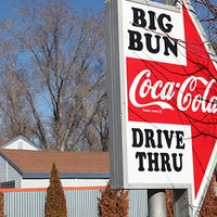 Photo taken at Big Bun Drive In by Trevor S. on 4/18/2016