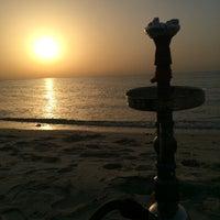 Photo taken at Lebanon Beach by Saud A. on 6/20/2014