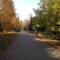 Photo taken at Бульвар по пр. Кирова by Timur R. on 10/3/2014