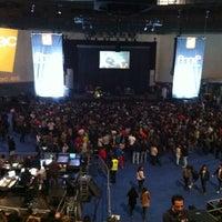 Photo taken at Palacio Vistalegre Arena by Silvia M. on 11/17/2012