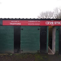 Photo taken at Trafford FC by Steve H. on 1/14/2017
