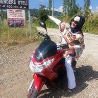 Снимок сделан в Sındırgı Emendere Resort Hotel пользователем Sibel K. 6/22/2014