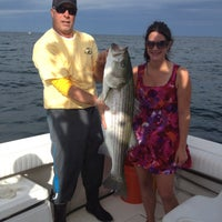 Photo taken at Cape Cod Family Fishing Charters by Cape Cod Family Fishing Charters on 4/11/2014