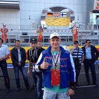 Photo taken at Sochi Autodrom by Viktor V. on 10/12/2014