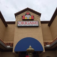 Photo taken at Origami by Joseph Y. on 10/24/2013