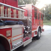 Photo taken at Dekalb County Fire Station by Yates D. on 10/8/2014