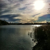 Photo taken at Töölönlahti / Tölöviken by Ilkka on 10/26/2012