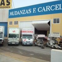 Foto tomada en Mudanzas F. Cárceles por Antonio G. el 6/10/2014