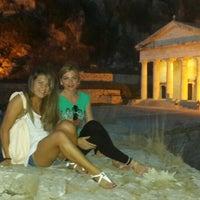 Photo taken at Gouvia Marina Pool by Leyla G. on 8/26/2014