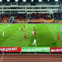 Photo taken at Central Stadium by Anton L. on 9/12/2015
