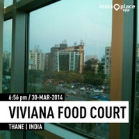 Photo taken at Viviana Food Court by Nived B. on 3/30/2014