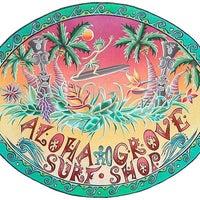 Photo taken at Aloha Grove Surf Shop by Aloha Grove Surf Shop on 4/11/2014