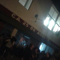 Photo taken at Club 25 de Agosto by Federico F. on 3/6/2015