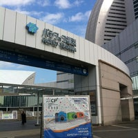 Photo taken at PACIFICO Yokohama by 渡邊 ロ. on 2/1/2013