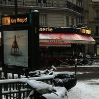 Photo taken at Métro Guy Moquet [13] by Ismail H. on 1/19/2013