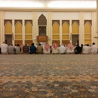 Photo taken at جامع الامير محمد بن عبدالعزيز by Faisal S. on 7/18/2014