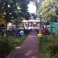 Photo taken at Collierville Town Square Park by Gavin A. on 11/4/2012
