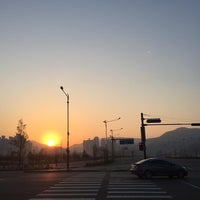 Photo taken at Incheon Asiad Main Stadium by DongJun H. on 4/22/2017