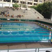 Photo taken at สระว่ายน้ำ การกีฬาแห่งประเทศไทย by fern♡ on 5/8/2016