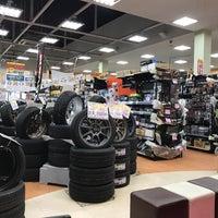 Photo taken at アップガレージ三郷インター店 by Kazuyuki E. on 3/14/2017