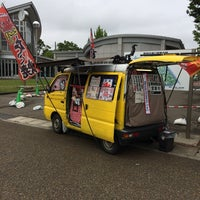 Photo taken at タコ焼き多幸坊主燕市交通公園 by Hiromu W. on 6/22/2014