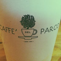 Снимок сделан в CAFFE' del PARCO пользователем Aleksandr T. 5/24/2014