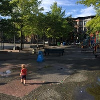 Photo taken at Park Slope Playground by Charles B. on 7/24/2016