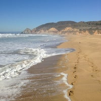 Photo taken at Montara State Beach by Molly L. on 10/17/2012