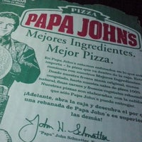 Foto tomada en Papa John's Pizza por Jocelin S. el 4/18/2014