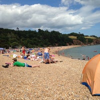 Photo taken at Blackpool Sands by Megan on 7/30/2014