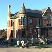 Photo taken at Brush Park Historic District by Sarah C. on 11/1/2015