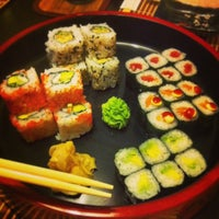 Photo taken at Sushi Bar Pasáž by Petr on 6/2/2014