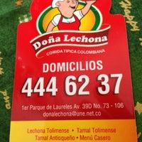Photo taken at Doña Lechona by Michael P. on 12/2/2012