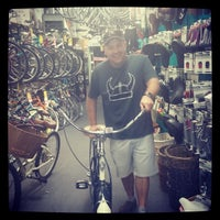 Photo taken at Holland's Bicycles by Missy B. on 3/16/2014