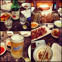 Photo taken at Imperial Korean BBQ Restaurant by Mikaela I. on 12/11/2012