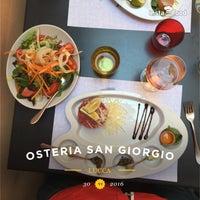 Photo taken at Osteria San Giorgio by Mark F. on 6/30/2016