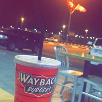 Photo taken at way back burgers by Dr.Rashad G. . on 4/11/2018