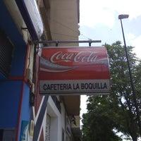 Photo taken at La Boquilla by Víctor C. on 5/25/2014