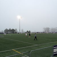 Photo taken at Northwestern Lakeside Field by Craig S. on 4/13/2014