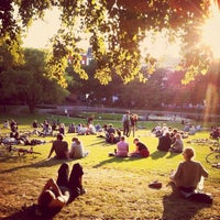Photo taken at Volkspark am Weinberg by Thomas on 9/16/2012