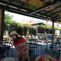Photo taken at Avli Bar Sivota by Bikkojisedi H. on 8/23/2014